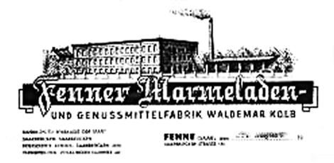 Fenner Marmeladenfabrik Waldemar Kolb