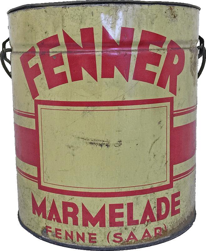 Fünf Litergebinde Fenner Marmelade