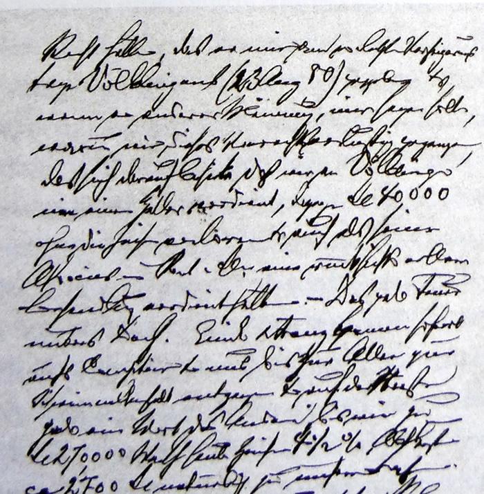Brief Carl Röchlings an seinen Bruder Theodor 1881