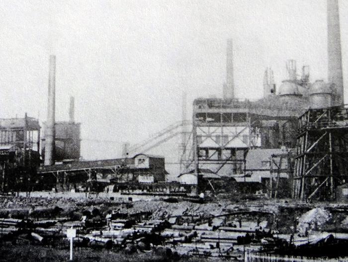 Die Völklinger Hütte 1890