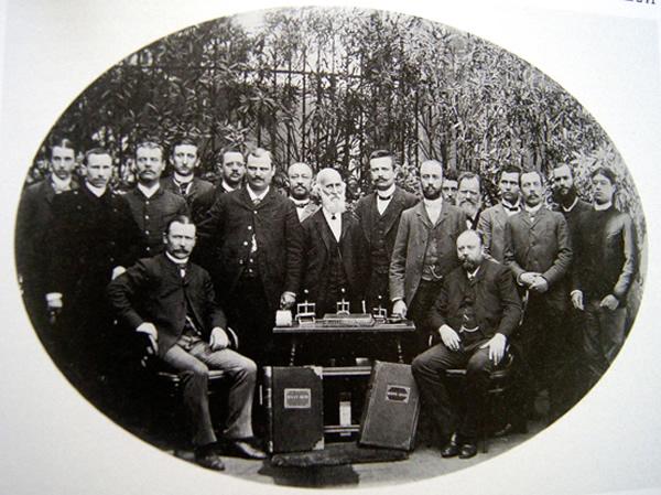 Die Angestellten des Saarbrücker Kontors um 1860