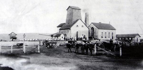Grube Hostenbach vor 1900