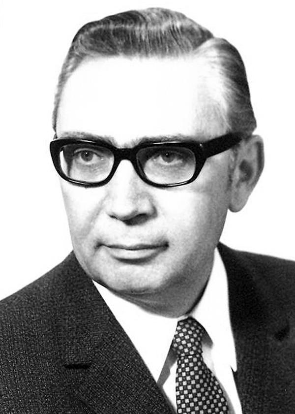 Gründungspräsident Wilhelm Huken
