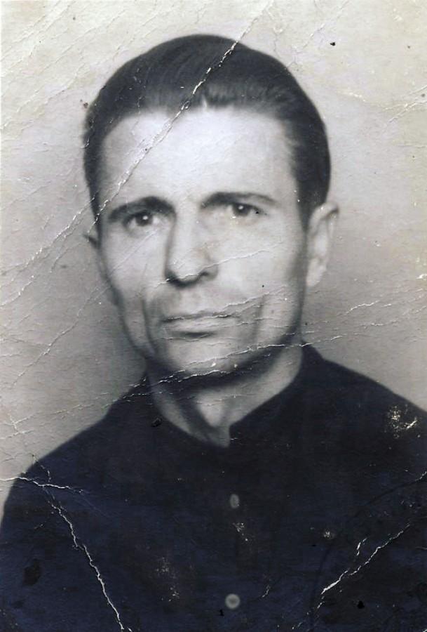 Aufnahme des in der Völklinger Forstverwaltung eingesetzten Arbeiters Stefan Nahornii.